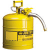 "SEA222 Safety Cans (YLW) 5/8"" hose7.5 liters"