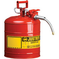 "SEA224 Safety Cans (RED) 5/8"" hose9.5 liters"