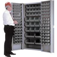 "CB692 Storage Cabinets Stone bins38""Wx24""Dx72""H"