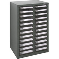 "CF289 24 clear drawers14.3""Wx10.4""Dx22.5""H"