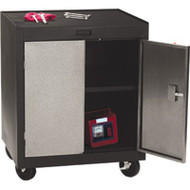 "FH732 Mobile Cabinets(black)28""Wx22""Dx30""H"