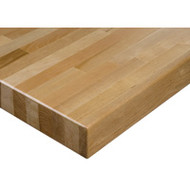 "FD015 HD Workbench Tops (hardwood/square edge) 24""Wx48""L"