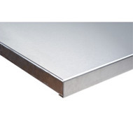 "FI272 HD Workbench Tops (stainless steel) 30""Wx72""L"