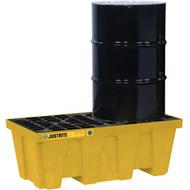 SBA852 Drum Spill Pallets 2-drumWith drain