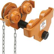 LS560 Geared Adj Trolleys 10,000-lb cap