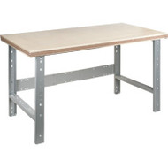 "FH878 Workbenches (w/shop grade wood tops) 24""Wx60""Lx34""H"