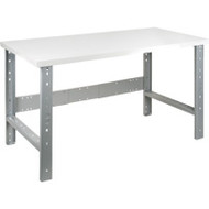 "FF665 Workbenches (laminated plastic tops) 36""Wx72""Lx34""H"