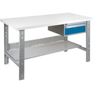 "FH887 Workbenches (laminated plastic tops) 36""Wx60""Lx34""H"