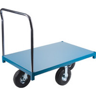 "MB281 Steel Platform Diamond casters 36""Wx72""L"