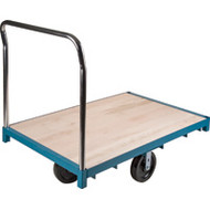 "MB306 Wood Platform Diamond casters 30""Wx48""L"
