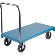 "MB322 Wood Platform Diamond casters 36""Wx72""L"