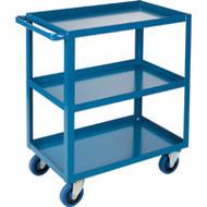 "ML086 HD Shelf Carts 3 shelves 24""Wx36""Dx48""H"