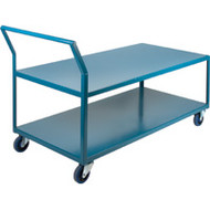 "ML097 HD Shelf Carts Low Profile24""Wx60""Dx40""H"