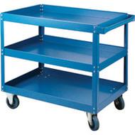 "MN145 Shelf Carts 3 shelves 24""Wx48""Dx48""H"