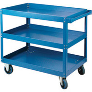 "MN144 Shelf Carts 3 shelves 24""Wx36""Dx48""H"
