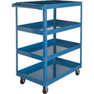 "MN149 Shelf Carts 4 shelves 24""Wx36""Dx48""H"