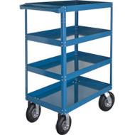 "MN156 Shelf Carts (4 shelves) 24""Wx36""Dx65""H"