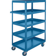 "ML152Shelf Carts (5 shelves) 24""Wx36""Dx61""H"