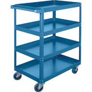 "ML148 Shelf Carts (4 shelves) 18""Wx30""Dx61""H"