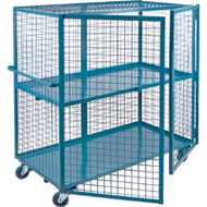 "ML245 Lockable2 shelves24""Wx48""Lx63""H"