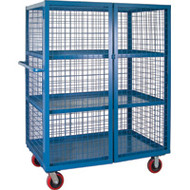 "ML261 Lockable3 shelves30""Wx72""Lx63""H"
