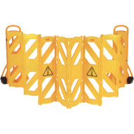 """SAJ714 Expandable Barricades Mobile13'Lx40""""H"""