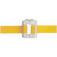 "PA498 Plastic Buckles For 1/2"" strap 2000/box"