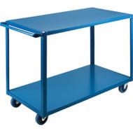 "MB446 HD Shelf Carts 2 shelves 24""Wx36""Dx36""H"