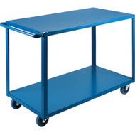 "MB448 HD Shelf Carts 2 shelves 24""Wx48""Dx36""H"