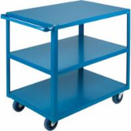 "MB455 HD Shelf Carts 3 shelves 18""Wx30""Dx36""H"