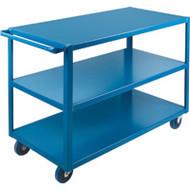 "MB460 HD Shelf Carts 3 shelves 24""Wx48""Dx36""H"
