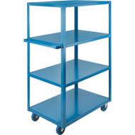"MB467 HD Shelf Carts 4 shelves 18""Wx30""Dx61""H"