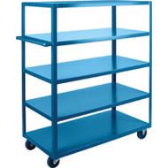"MB477 HD Shelf Carts 5 shelves 24""Wx48""Dx61""H"