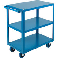 "ML085 HD Shelf Carts 3 shelves 24""Wx36""Dx48""H"