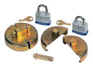 DC292 Plastic Drum Locks Keyed alike