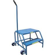 VC336 Tilt-N-Roll Step Stands  2 step