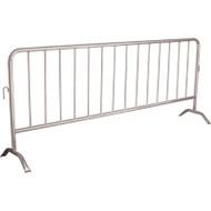SEE395 Interlocking BarricadesGalvanized8.5'L
