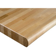 "FI524 HD Workbench Tops (hardwood/bullnose) 24""Wx72""L"