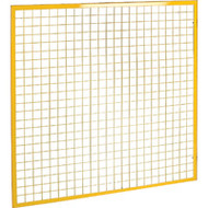 KD130 Partition Panels YELLOW 4'Wx4'H
