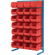 "CB655 Racks RED Bins 36""Wx12""Dx61""H"