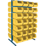 "CB372 Racks YELLOW Bins 36""Wx24""Dx61""H"