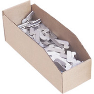 "CB057 Corrugated Bins (boxes) 3""Wx18""Dx4.5""H"