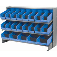 "CB320 Racks BLUE Bins 32-7/8""Wx12-1/8""Dx21.5"