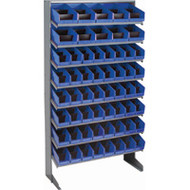 "CB325 Racks BLUE Bins 33-1/2""Wx12-1/4""Dx61""H"""