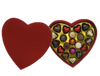 Deluxe red heart box - 20 chocolates $77.50