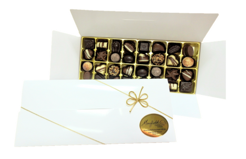 White gift box - 32 chocolates $62.50