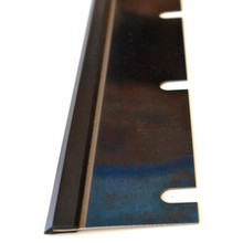"Washup Blade for MAN Roland- Metal/Rubber 44-13/16"" x 2.6"" x 12 slots"