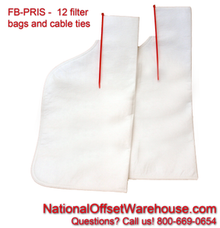 Filter Bag for Prisco - Dozen (12)