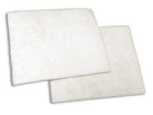 Technotrans Filter - Flat White Poly Fibrous Media, Pkg (4) TE-FLT72/P4