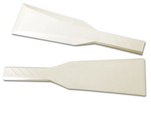 """Plastic Ink Knives, 3-1/8"""" Wide X 11-3/4"""" Long, White"""
